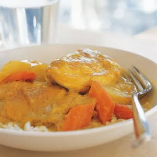 Yellow Chicken Curry.