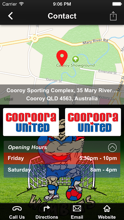 Cooroora United FC- screenshot