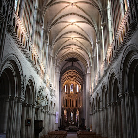 Cathedrale Notre-Dame de Bayeux by Michael Lunn - Buildings & Architecture Places of Worship ( bayeux, bayeux tapestry, france, cathedral, monument,  )