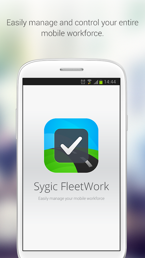 Sygic FleetWork & Job Dispatch- screenshot