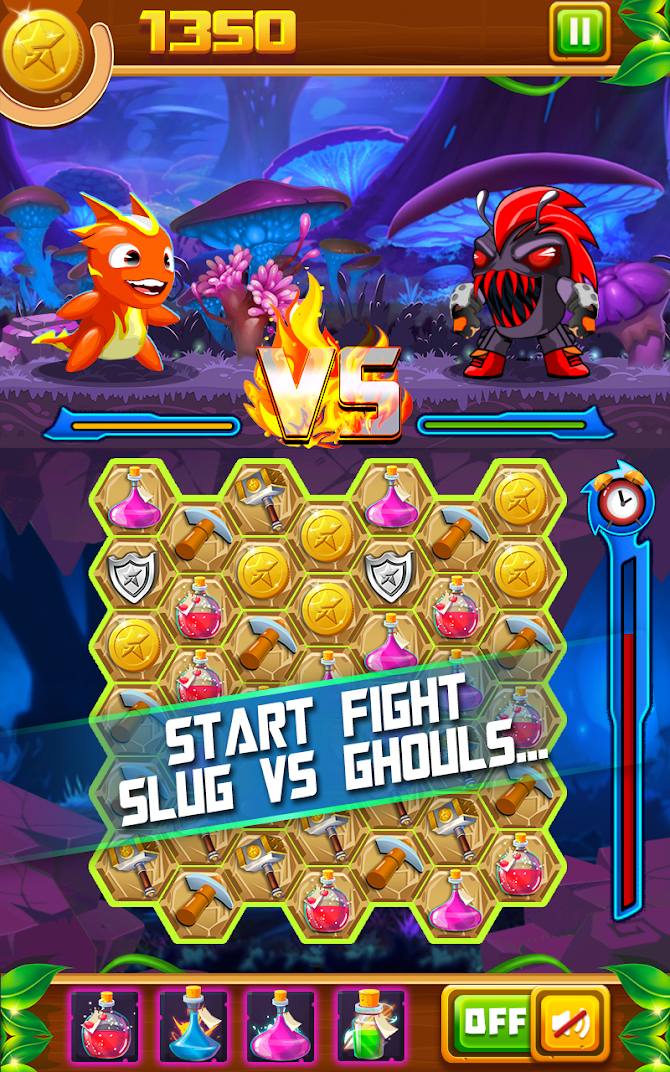 Slug Match 3 RPG Android 2