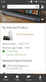 Lenovo Companion – Mobile screenshot 04