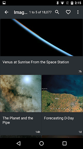 NASA App screenshot 2