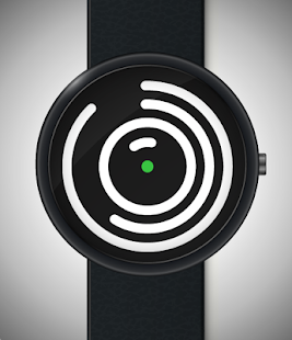 Imgur Spiral Watch Face- screenshot thumbnail