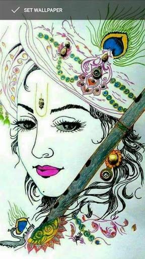 4k Wallpaper Krishna Hd Wallpaper For Desktop Background