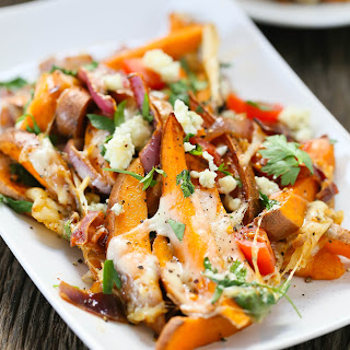 Loaded Baked Sweet Potatoes.