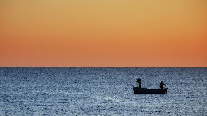 La mattina andando a pescare di Luciano Fontebasso