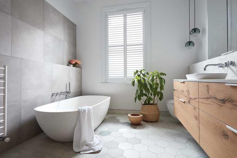 Nên đặt vị trí phòng tắm ở những góc nhỏ để đảm bảo sinh hoạt cá nhân