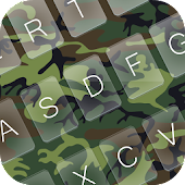 Camo Emoji GO Keyboard Theme