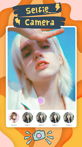 Selfie Sticker Beauty - Selfie Candy Camera 1.0.0 screenshots 1