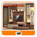 Shelves TV Design icon