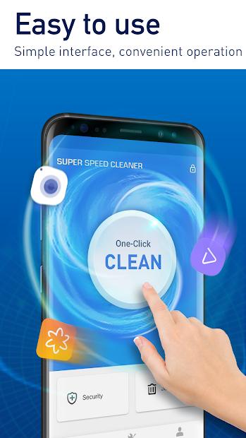 Super Phone Cleaner & Antivirus by Hyper Speed Android App Screenshot