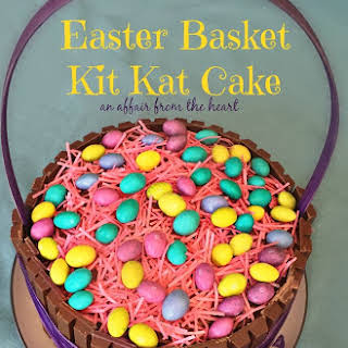 Easter Basket Kit Kat Cake.