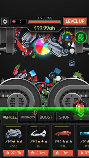 Idle Car Crusher apkmr screenshots 6