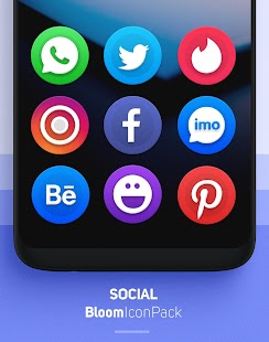 Bloom Icon Pack Screenshot