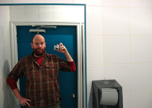 """Photo: Because now when I go to the washroom in public places I think """"Oh I should take a picture for #BathroomSelfie and +Lotus Carroll """" And now you think it too ;) PS This place in Vancouver had pretty good Pad Thai."""