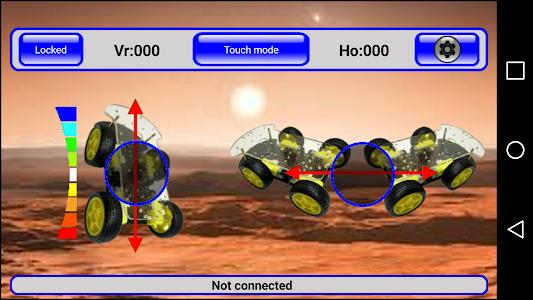 IRacer & Arduino BT controller screenshot 4