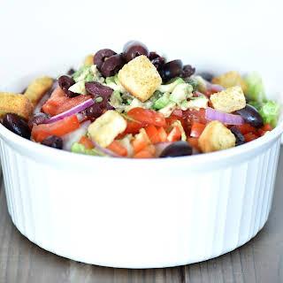 Super Easy Salad.