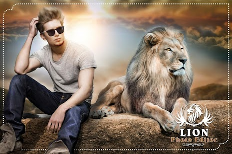 Lion Photo Editor: Photo with Lion - náhled