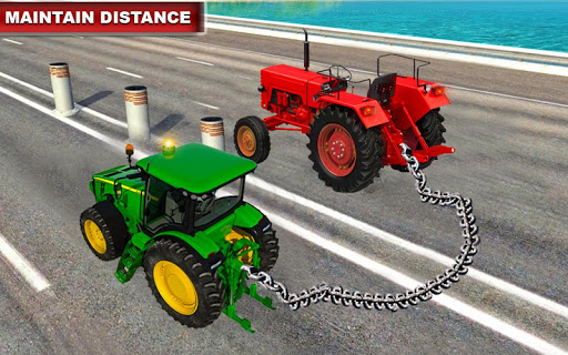 Real chained tractors 3d driver for PC
