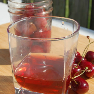 Cherry Infused Bourbon.