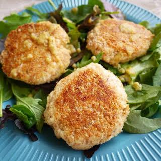Crispy Lemon-Thyme Fish Cakes (paleo).