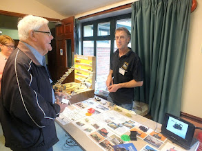 Photo: 004 Spotlight on the Traders 2 – Neville Kent has travelled even further, from Lesmahagow just south of Glasgow, with his N-Drive Productions.
