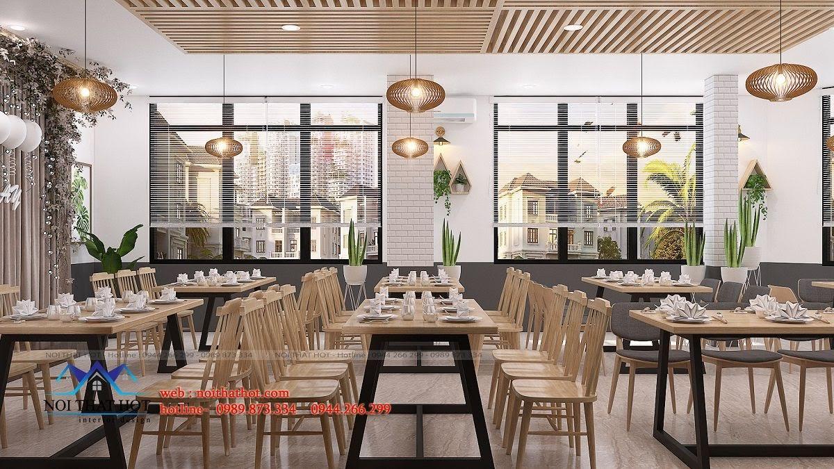 thiết kế nhà hàng trường giang 25