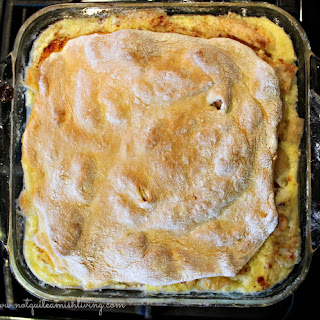 Baked Apple Custard Dessert (AKA – Apple Fish)
