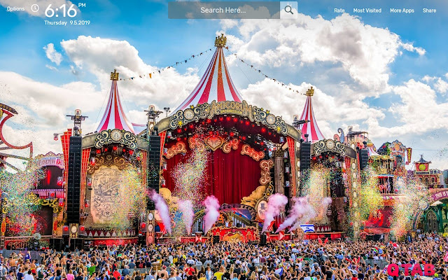 Tomorrowland Hd Wallpapers New Tab Chrome Web Store