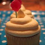 Pfirsich-Maracuja-Cupcakes