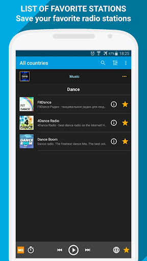 Radio Online - PCRADIO 2.5.1.4 screenshots 12
