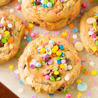 Sprinkle Chocolate Chip Cookies