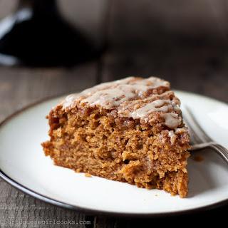 Pumpkin Coffee Cake with Brown-Sugar Streusel.