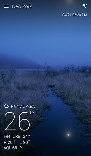 GO Weather Forecast & Widgets screenshot 17