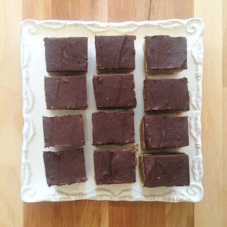 Chocolate Peanut Butter Graham Bars with Protein Powder!