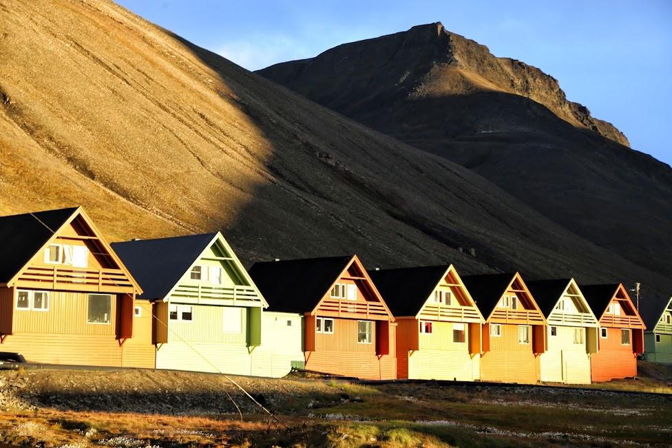 Longyearbyen, domki
