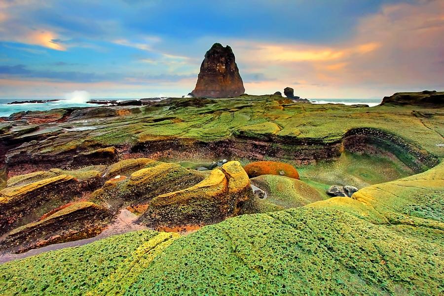 Papuma Beach by Agoes Antara - Landscapes Sunsets & Sunrises