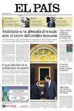 Photo: Andalucía se ve abocada al rescate ante el cierre del crédito bancario, el laberinto de la sanidad para los sin papeles y el juez concede la libertad condicional al secuestrador de Ortega Lara, en nuestra portada.  http://srv00.epimg.net/pdf/elpais/1aPagina/2012/08/ep-20120831.pdf