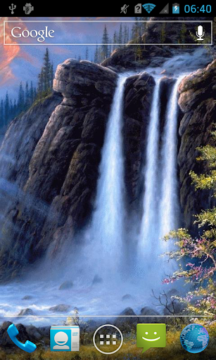 Grand waterfall Live WP