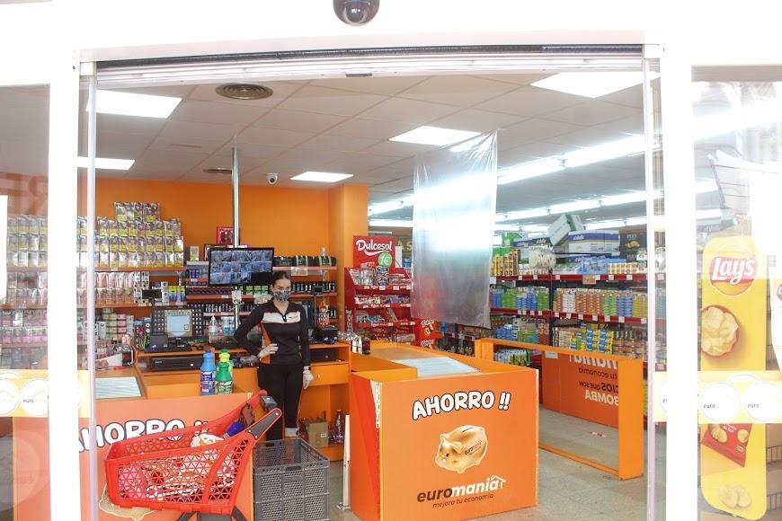 Caja del supermercado de Plaza de San Pedro.