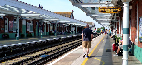Photo: On our way to Brighton from Worthing