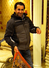 Photo: One of the famed Turkish Carpet Sellers
