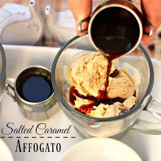 Salted Caramel Affogato.