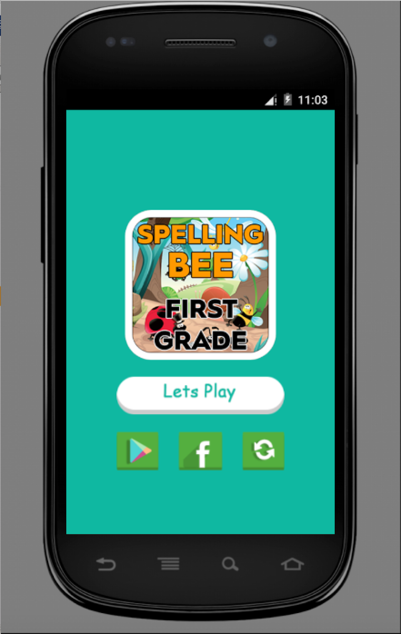 Скриншот Spelling bee for first grade Free