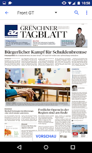 az Grenchner Tagblatt E-Paper screenshot 1