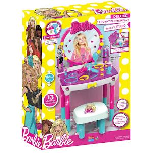Studio de infrumusetare Barbie, cu 12 accesorii si scaun inclus
