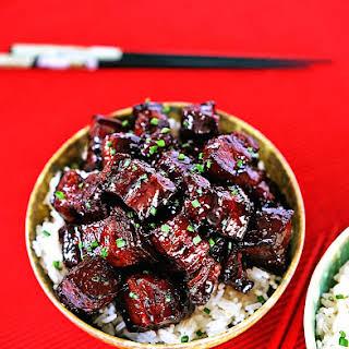Szechuan Braised Pork Belly.