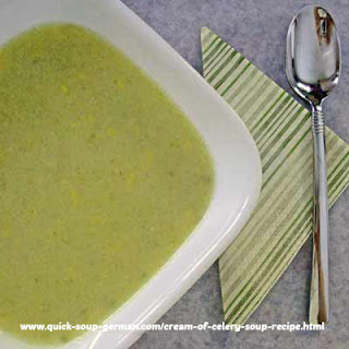 Oma's Cream of Celery Soup