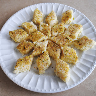 Coconut Barfi (Sweet)
